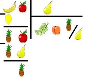 Считаем расходы на фрукты и овощи